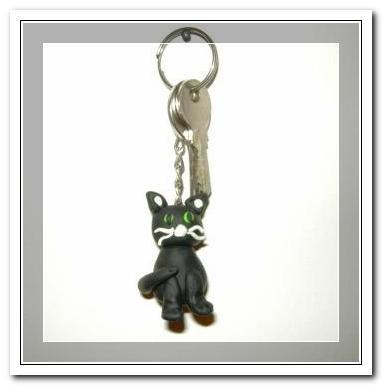 Katzen-Schlüsselanhänger
