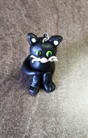fertiger Katzen-Schlüsselanhänger