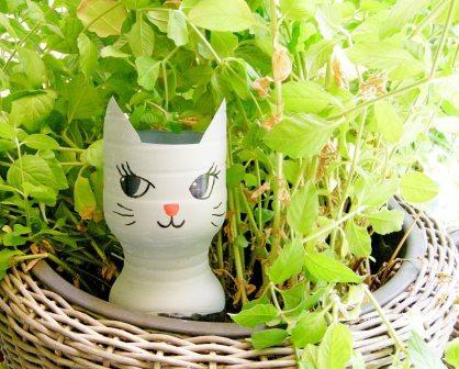 Wasserspender Comic Katze