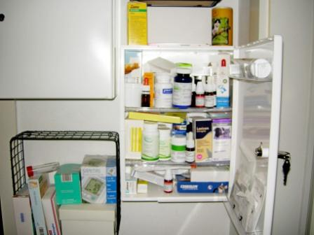 Medikamentengabe: Slimmys Medizinschrank