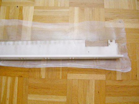 Lichtschachtabdeckung zuschneiden