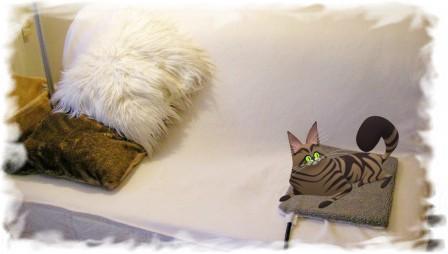 Heizmatte für Katzen